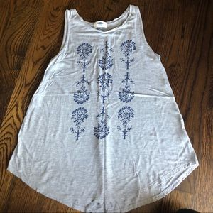 Small old navy tank